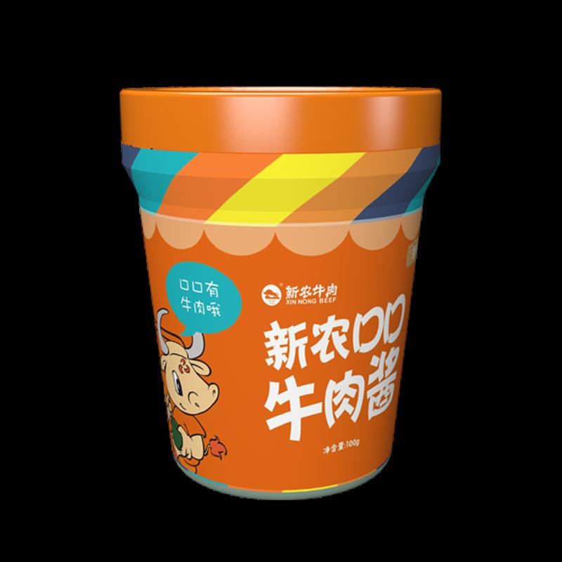 xinnong牛rou酱100g(香辣味)